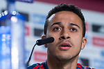 Spain coach Thiago Alcantara during press conference the day before Spain and Argentina match at Wanda Metropolitano in Madrid , Spain. March 26, 2018. (ALTERPHOTOS/Borja B.Hojas)
