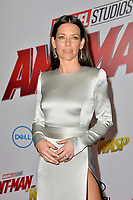 Evangeline Lilly at the premiere for &quot;Ant-Man and the Wasp&quot; at the El Capitan Theatre, Los Angeles, USA 25 June 2018<br /> Picture: Paul Smith/Featureflash/SilverHub 0208 004 5359 sales@silverhubmedia.com