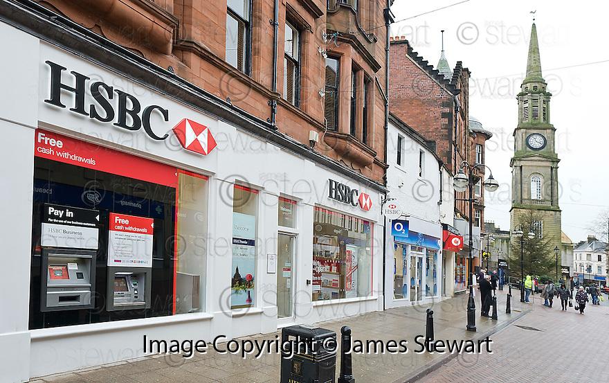 HSBC Falkirk.