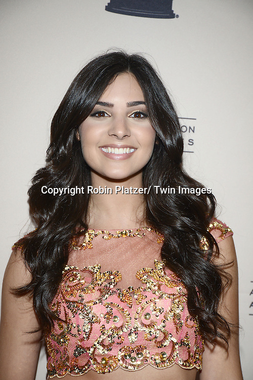 Camila Banus attends the Academy Of Television Arts & Science Daytime Programming  Peer Group Celebration for the 40th Annual Daytime Emmy Awards Nominees party on June 13, 2013 at the Montage Beverly Hills in Beverly Hills, California.