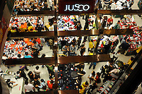 Consumers at a Jusco store in Guangzhou, Guangdong Province, China. Despite the general economic down-turn China's domestic demand is helping China to maintain positive economic growth..24 Apr 2009