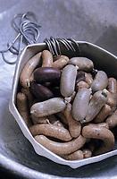 Europe/Allemagne/Forêt Noire/Hinterzarten : Saucisses chez Heinrich Kramer charcutier
