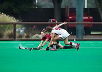 Stanford, CA - September 4,  2017:  The Stanford Field Hockey team defeats Harvard 2-1 (OT) at Varsity Field Hockey Turf at Stanford, CA.