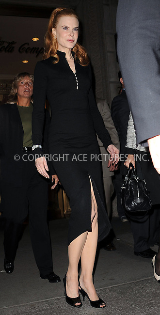 WWW.ACEPIXS.COM . . . . . ....October 7 2009, New York City....Nicole Kidman made an appearance at the Omega Flagship Boutique to donate her signed OMEGA Constellation watch to the 'Ambassador Collection Series' on October 7, 2009 in New York City.....Please byline: KRISTIN CALLAHAN - ACEPIXS.COM.. . . . . . ..Ace Pictures, Inc:  ..tel: (212) 243 8787 or (646) 769 0430..e-mail: info@acepixs.com..web: http://www.acepixs.com