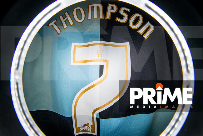Garry Thompson of Wycombe Wanderers Matchday Home Shirt on 28 December 2015. Photo by Andy Rowland / PRiME Media Images