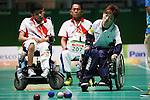 Takayuki Hirose (JPN),<br /> Hidetaka Sugimura (JPN),<br /> Yuriko Fujii (JPN),<br /> Takayuki Kitani (JPN),<br /> SEPTEMBER 12, 2016 - Boccia : <br /> Mixed Team BC1/BC2 Final<br /> at Carioca Arena 2<br /> during the Rio 2016 Paralympic Games in Rio de Janeiro, Brazil.<br /> (Photo by Shingo Ito/AFLO)
