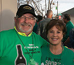 James Burns and Ree Weber on St. Patrick's Day in Reno on Friday, March 17, 2017.
