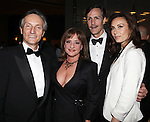 Claudio Bisogniero, Patti Lupone, Howard McGillin & Laura Benanti.attending the Signature Theatre Stephen Sondheim Award Gala reception honoring Patti Lupone at the Embassy of Italy in Washington D.C. on 4/16/2012.
