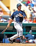 11 March 2009: New York Yankees' catcher Jorge Posada in action during a Spring Training game against the Detroit Tigers at Joker Marchant Stadium in Lakeland, Florida. The Tigers defeated the Yankees 7-4 in the Grapefruit League matchup. Mandatory Photo Credit: Ed Wolfstein Photo