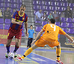 LNFS El FC Barcelona Alusport segueix intractable i s'imposa al Benicarlo 2-0