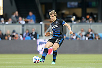 San Jose, CA - Saturday May 19, 2018: Florian Jungwirth during a Major League Soccer (MLS) match between the San Jose Earthquakes and D.C. United at Avaya Stadium.