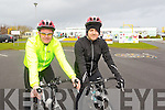 Pictured at the Fenit Coastal Cycle on Saturday were l-r: Stephen O'Sullivan and Enda O'Sullivan (Fenit).