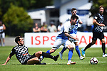 NELSON, NEW ZEALAND - Tasman Utd v Hawkes Bay. Trafalgar Park, Nelson, New Zealand. Sunday 2 December 2018. (Photo by Chris Symes/Shuttersport Limited)