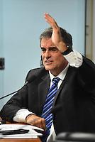 BRASILIA, DF – 21.06.2016 – SENADO–IMPEACHMENT – O advogado de defesa, Eduardo Cardozo, durante reunião da Comissão na tarde desta terça-feira, 21, no Senado Federal.(Foto: Ricardo Botelho/Brazil Photo Press)