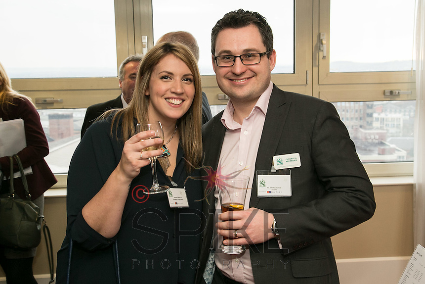 Emma Vallance of Skeleton Productions and Nic Elliott of Actons