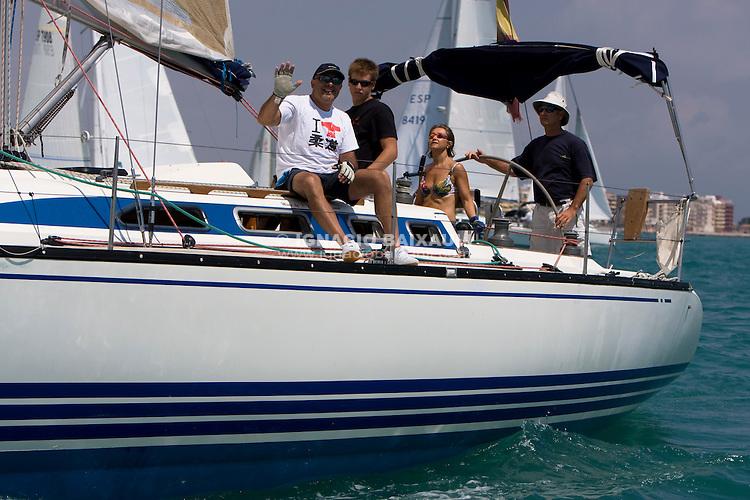 ULAVELA .XIII TROFEO DE VELA CIUDAD DE BURRIANA Trofeo Caja Rural Burriana, Burriana, Castellón, Spain - Regata de flota/Fleet Race - Cruceros/Cruisser