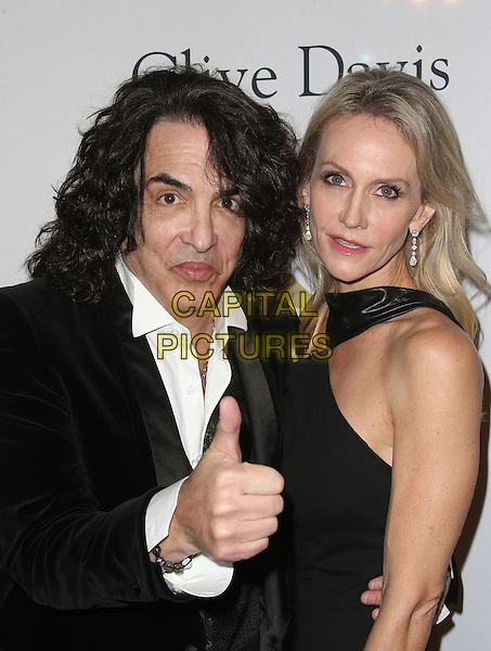 Beverly Hills, CA - February 11:  Paul Stanley, Erin Sutton, At Pre-GRAMMY Gala and Salute to Industry Icons Honoring Debra Lee, At The Beverly Hilton Hotel In California on February 11, 2017. <br /> CAP/MPI/FS<br /> &copy;FS/MPI/Capital Pictures