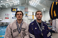 Men's 2008  Big Ten Swimming & Diving Championships held at the University of Michigan. Swimming Finals 03-01-08 ..