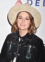LOS ANGELES, CA - FEBRUARY 08: Brandi Carlile attends MusiCares Person of the Year honoring Dolly Parton at Los Angeles Convention Center on February 8, 2019 in Los Angeles, California.<br /> CAP/ROT/TM<br /> &copy;TM/ROT/Capital Pictures