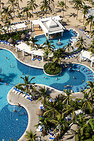 Swimming pools at the Hotel RIU, Nuevo Mazatlan, Sinaloa, Mexico