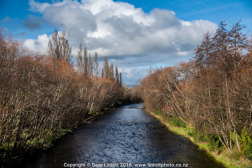 Waipoua River. Masterton District Council photoshoot in Masterton, New Zealand on Tuesday, 5 July 2015. Photo: Dave Lintott / lintottphoto.co.nz