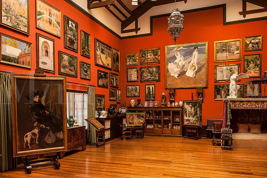 Sorolla Gallery and house, Madrid, Spain