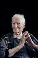 Diana Athill photographed at her home in North London. Diana Athill is a British literary editor, novelist and memoirist who worked with some of the writers of the 20th century at the London-based publishing company Andre Deutsch Ltd.