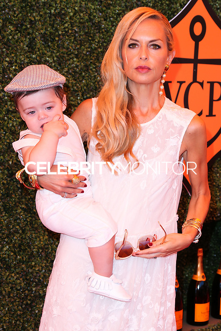 PACIFIC PALISADES, CA, USA - OCTOBER 11: Kaius Jagger Berman, Rachel Zoe arrive at the 5th Annual Veuve Clicquot Polo Classic held at Will Rogers State Historic Park on October 11, 2014 in Pacific Palisades, California, United States. (Photo by Xavier Collin/Celebrity Monitor)
