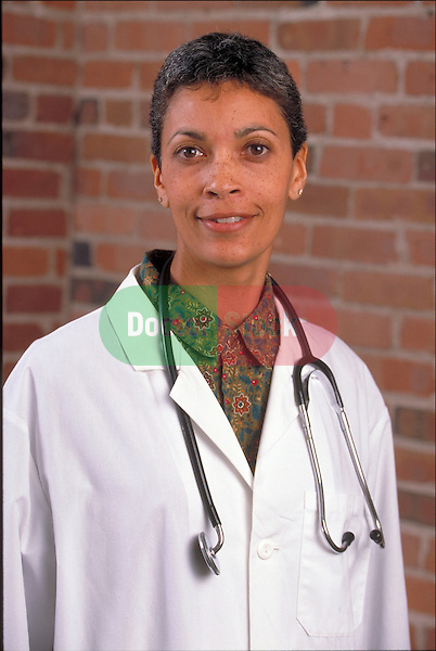 portrait of smiling female doctor