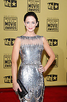 January 15, 2010:  Emily Blunt arrives at the 15th Annual Critics' Choice Movie Awards held at the Palladium in Los Angeles, California. .Photo by Nina Prommer/Milestone Photo