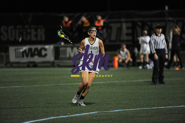Stevenson women's lacrosse battled back to steal a 13-12  OT victory over the Lycoming Warriors Wednesday night at Mustang Stadium in Owings Mills.