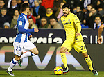 CD Leganes' Omar Ramos (l) and Villarreal CF's Roberto Soriano during La Liga match. December 3,2016. (ALTERPHOTOS/Acero)