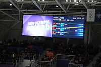 OLYMPIC GAMES: PYEONGCHANG: 14-02-2018, Gangneung Oval, Long Track, 1000m Ladies, Olympic record, Jorien ter Mors (NED), ©photo Martin de Jong