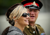 10th September 2017, Goodwood Estate, Chichester, England; Goodwood Revival Race Meeting; Goodwood spectators take part in the 1960's Revival dress code