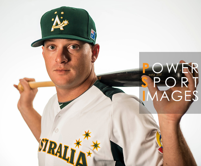 Brad Harman of Team Australia poses during WBC Photo Day on February 25, 2013 in Taichung, Taiwan. Photo by Andy Jones / The Power of Sport Images