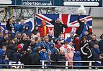 Rangers fans at Elgin