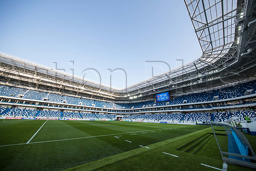 May 30th 2018, KALININGRAD, Russia; The inside view of Kaliningrad Stadium which will host the 2018 World Cup matches in Kalininggrad, Russia.