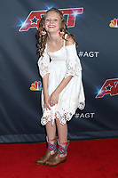 """LOS ANGELES - SEP 3:  Ansley Burns at the """"America's Got Talent"""" Season 14 Live Show Red Carpet at the Dolby Theater on September 3, 2019 in Los Angeles, CA"""