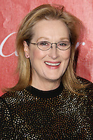 PALM SPRINGS, CA - JANUARY 04: Actress Meryl Streep arrives at the 25th Annual Palm Springs International Film Festival Awards Gala held at Palm Springs Convention Center on January 4, 2014 in Palm Springs, California. (Photo by Xavier Collin/Celebrity Monitor)
