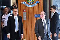 BRASÍLIA, DF, 22.11.2018 – AGENDA-BOLSONARO – O presidente eleito, Jair Bolsonaro e o ministro da Defesa Fernando Azevedo e Silva durante visita ao Ministério da Marinha na manhã desta quinta-feira, 22. (Foto: Ricardo Botelho/Brazil Photo Press)