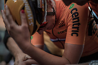 Chantal Blaak (NED/Boels-Dolmans) is the new Elite Women Road World Champion and can't hardly believe it herself<br /> <br /> Women Elite Road Race<br /> <br /> UCI 2017 Road World Championships - Bergen/Norway
