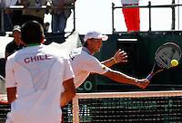 NAPOLI 15/09/2012.PLAY OFF DI COPPA DAVIS DI TENNIS  TRA ITALIA E CILE.NELLA FOTO ANDREAS SEPPI.FOTO CIRO DE LUCA