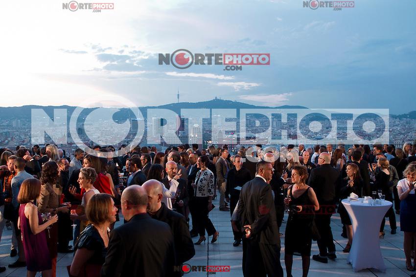 Guests at the Mango Fashion Awards,  Barcelona Spain, May 30, 2012.