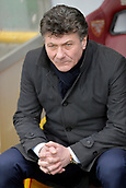 18th March 2018, Stadio Olimpico di Torino, Turin, Italy; Serie A football, Torino versus Fiorentina; Walter Mazzarri, the coach of Torino FC