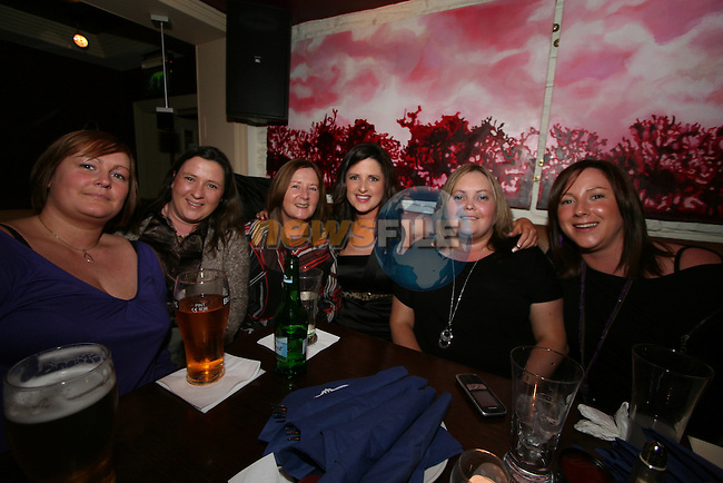 Olwen Murphy (centre) celebrates her 30th in Barocco with Sinead Murphy, Karen Smith, her mam Marie Murphy, Ita Murphy and Adele Walsh...Photo NEWSFILE/Jenny Matthews.(Photo credit should read Jenny Matthews/NEWSFILE)....This Picture has been sent you under the condtions enclosed by:.Newsfile Ltd..The Studio,.Millmount Abbey,.Drogheda,.Co Meath..Ireland..Tel: +353(0)41-9871240.Fax: +353(0)41-9871260.GSM: +353(0)86-2500958.email: pictures@newsfile.ie.www.newsfile.ie.FTP: 193.120.102.198.