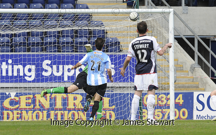 24/04/2010   Copyright  Pic : James Stewart.sct_jsp003_falkirk_v_hamilton  .::  MARCO PAIXAO SCORES HAMILTON'S FIRST ::  .James Stewart Photography 19 Carronlea Drive, Falkirk. FK2 8DN      Vat Reg No. 607 6932 25.Telephone      : +44 (0)1324 570291 .Mobile              : +44 (0)7721 416997.E-mail  :  jim@jspa.co.uk.If you require further information then contact Jim Stewart on any of the numbers above.........