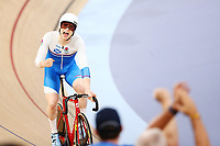 Mark Stewart of Scotland wins gold at the Men's 40km Points Race Final. Gold Coast 2018 Commonwealth Games, Track Cycling, Anna Meares Velodrome, Brisbane, Australia. 8 April 2018 © Copyright Photo: Anthony Au-Yeung / www.photosport.nz /SWpix.com
