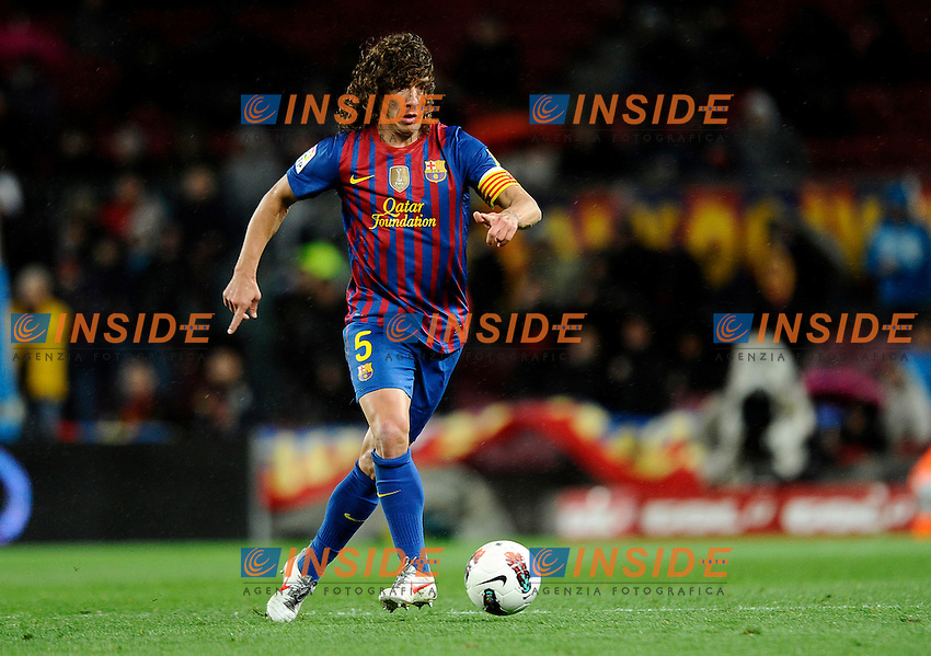 Carles Puyol (Barcellona).Barcellona 20/03/2012 Nou Camp.Football Calcio 2011/2012 Liga Spagnola.Barcellona Vs Granada.Foto Insidefoto / Paco Largo / Panoramic.ITALY ONLY
