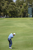 Paul Casey (GBR) hits his approach shot on 14 during round 2 of the World Golf Championships, Mexico, Club De Golf Chapultepec, Mexico City, Mexico. 2/22/2019.<br /> Picture: Golffile | Ken Murray<br /> <br /> <br /> All photo usage must carry mandatory copyright credit (&copy; Golffile | Ken Murray)