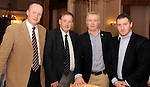 Conal O'Neill, Pillo Hotel, Philip Scallan, Celtic Linen, Tom Walsh , Hotel Bedrooms Solutions and Derek Twiss at the Irish Hotels Federation Conference 'President's Dine Around' event in The  Malton Hotel , Killarney,  on Monday  night. Picture: MacMonagle, Killarney